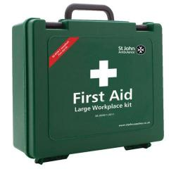 Cheap Stationery Supply of St John Ambulance Workplace First Aid Large 100 Person F30659 Office Statationery