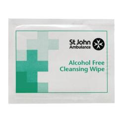 Cheap Stationery Supply of St John Ambulance Sterile Cleansing Wipes (Pack of 100) F11510 Office Statationery
