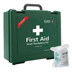 Cheap Stationery Supply of St John Ambulance Small First Aid Kit 25 Person FOC Revive-Aid SJA844007 Office Statationery