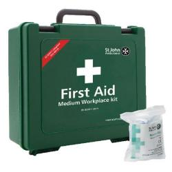 Cheap Stationery Supply of St John Ambulance Medium First Aid Kit 25-50 Person FOC Revive-Aid SJA844008 Office Statationery