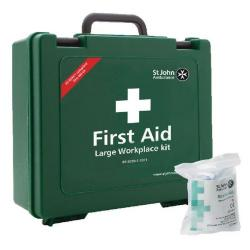 Cheap Stationery Supply of St John Ambulance Large First Aid Kit 100 Person FOC Revive-Aid SJA844009 Office Statationery