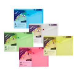 Cheap Stationery Supply of Snopake Polyfile Classic Foolscap Assorted (Pack of 5) 10087 Office Statationery