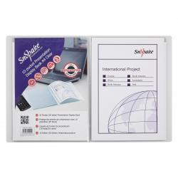 Cheap Stationery Supply of Snopake Superline Presentation Book 10 Pocket A4 Clear 11904 Office Statationery