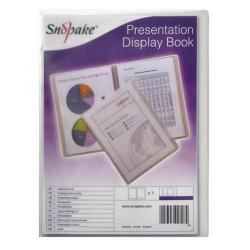 Cheap Stationery Supply of Snopake Superline Presentation Book 20 Pocket A4 Clear 11951 Office Statationery