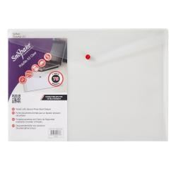 Cheap Stationery Supply of Snopake Polyfile Classic A3 Clear (Pack of 5) 11174 Office Statationery