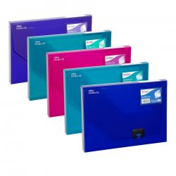 Cheap Stationery Supply of Snopake A4 35mm Dark Blue Document Box 12858 Office Statationery