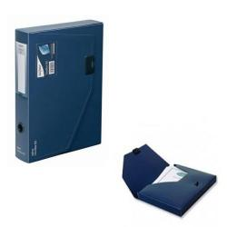 Cheap Stationery Supply of Snopake DocBox A4 60mm Dark Blue 12867 Office Statationery