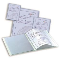 Cheap Stationery Supply of Snopake Superline A3 10-Pocket Polypropylene Presentation Display Book Clear 11953 Office Statationery