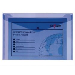 Cheap Stationery Supply of Snopake Polyfile™ Electra™ Foolscap Plus Blue Pack of 5 11164 Office Statationery