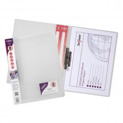Cheap Stationery Supply of Snopake ClampBinder A4 Clear (Pack of 10) 12772 Office Statationery