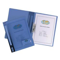 Cheap Stationery Supply of Snopake ClampBinder A4 Blue Pack of 10 12774 Office Statationery
