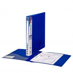 Cheap Stationery Supply of Snopake Polypropylene 2 A4 Ring 15mm Electra Blue Ring Binder (Pack of 10) 10120 Office Statationery