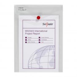 Cheap Stationery Supply of Snopake Polyfile P File Wallet Portrait A5 Clear (Pack of 5) 13280 Office Statationery