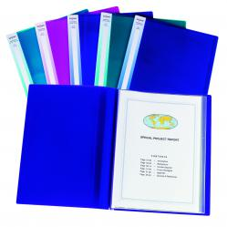 Cheap Stationery Supply of Snopake Display Book 24 Pocket A3 Electra Assorted (Pack of 5) 14103 Office Statationery