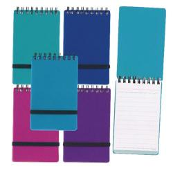 Cheap Stationery Supply of Snopake Noteguard Notebook 76 x 127mm Assorted (Pack of 5) 14324 Office Statationery