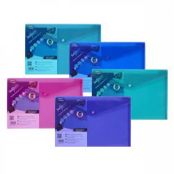 Cheap Stationery Supply of Snopake Polyfile Electra Foolscap Plus Assorted (Pack of 5) 10088 Office Statationery