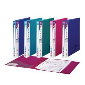Snopake 2 Ring Binder 25mm A4 Electra Assorted (Pack of 10) 10165