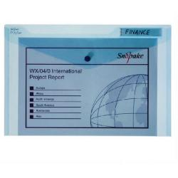 Cheap Stationery Supply of Snopake Polyfile Classic Wallet Foolscap Blue Pk5 11151 Office Statationery