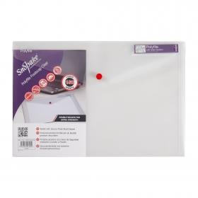 Snopake Polyfile Classic Foolscap Clear (Pack of 5) 11154X
