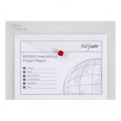 Cheap Stationery Supply of Snopake Polyfile Classic A5 Clear (Pack of 5) 11382 Office Statationery