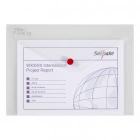 Snopake Polyfile Classic A5 Clear (Pack of 5) 11382