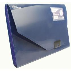 Cheap Stationery Supply of Snopake 6 Part Expanding Organiser A4 Dark Blue 11892 Office Statationery