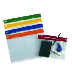 Cheap Stationery Supply of Snopake Zippa-Bag S Classic A5 Assorted (Pack of 25) 12722 Office Statationery