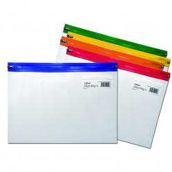 Cheap Stationery Supply of Snopake Zippa-Bag S Classic A4 Assorted (Pack of 25) 12796 Office Statationery
