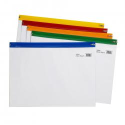 Cheap Stationery Supply of Snopake Zippa Bag S Classic A4-Plus Assorted (Pack of 25) 12814 Office Statationery