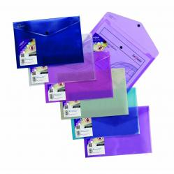 Cheap Stationery Supply of Snopake Polyfile Lite A4 Assorted (Pack of 5) 15411 Office Statationery