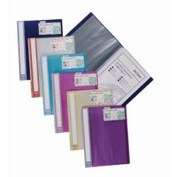 Cheap Stationery Supply of Snopake Lite Display Book 20 Pocket Assorted (Pack of 12) 15413 Office Statationery