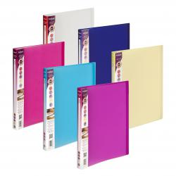 Cheap Stationery Supply of Snopake Lite Display Book 40 Pocket A4 Assorted (Pack of 12) 15415 Office Statationery