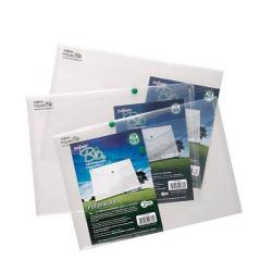 Cheap Stationery Supply of Snopake Bio Polyfile A4 Clear (Pack of 5) 15428 Office Statationery