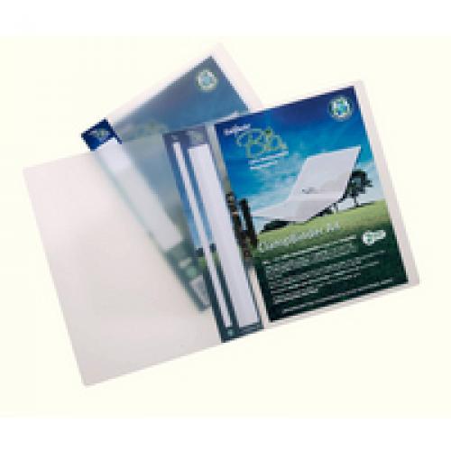 Snopake Bio2 A4 Biodegradable Polypropylene Clamp Binder