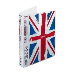 Cheap Stationery Supply of Snopake A4 Ring Binder with Union Jack Design 2-Ring Pack of 10 Ring Binders 15604 Office Statationery