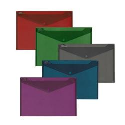Cheap Stationery Supply of Snopake Fusion Polyfile A4 Assorted (Pack of 5) 15643 Office Statationery