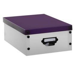 Cheap Stationery Supply of Snopake Fold A Box A4 Plum 15667 15667 Office Statationery