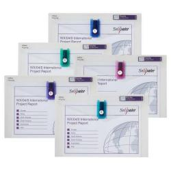 Cheap Stationery Supply of Snopake Polyfile™ Electra™ with USB Holder Foolscap Assorted Pack of 5 15689 Office Statationery