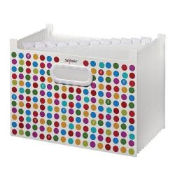 Cheap Stationery Supply of Snopake Polka Dot A4 13 Part Desk Expander Each 15740 Office Statationery