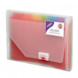 Cheap Stationery Supply of Snopake Rainbow Expanding Organiser A4 15768 Office Statationery
