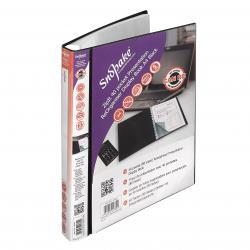 Cheap Stationery Supply of Snopake ZipIt Reorganiser Presentation Book 40 Pocket Black 15780 Office Statationery