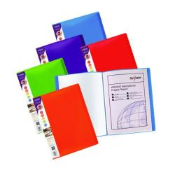 Cheap Stationery Supply of Snopake A4 Rainbow Display Book 24 Pocket Assorted Pack of 5 15808 Office Statationery