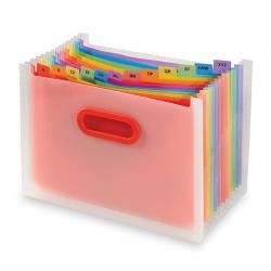 Cheap Stationery Supply of Snopake Rainbow 13 Part Desk Expander A4 15809 Office Statationery