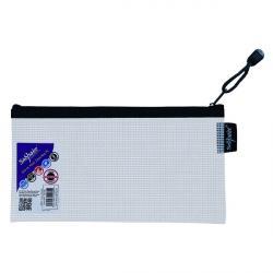Cheap Stationery Supply of Snopake Eva Mesh Zippa Bag DL (Pack of 3) 15837 Office Statationery