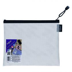 Cheap Stationery Supply of Snopake Eva Mesh Zippa Bag A5 (Pack of 3) 15838 Office Statationery
