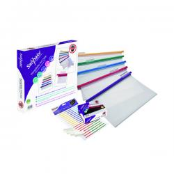 Cheap Stationery Supply of Snopake HangGlider Suspension File A4 Clear (Pack of 25) 15857 Office Statationery