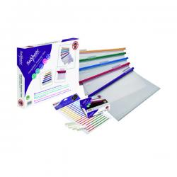 Cheap Stationery Supply of Snopake HangGlider Suspension File Foolscap Clear (Pack of 25) 15858 Office Statationery
