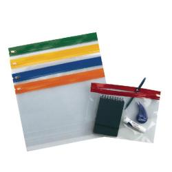 Cheap Stationery Supply of Snopake Zippa-Bag S A5 Assorted Pack 25 3 for 2 12722 Office Statationery