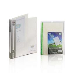 Cheap Stationery Supply of Snopake A4 2 Ring Binder 15mm Clear with FOC Pockets Office Statationery
