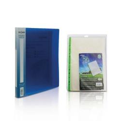 Cheap Stationery Supply of Snopake A4 2 Ring Binder 15mm Electra Blue with FOC Pockets Office Statationery